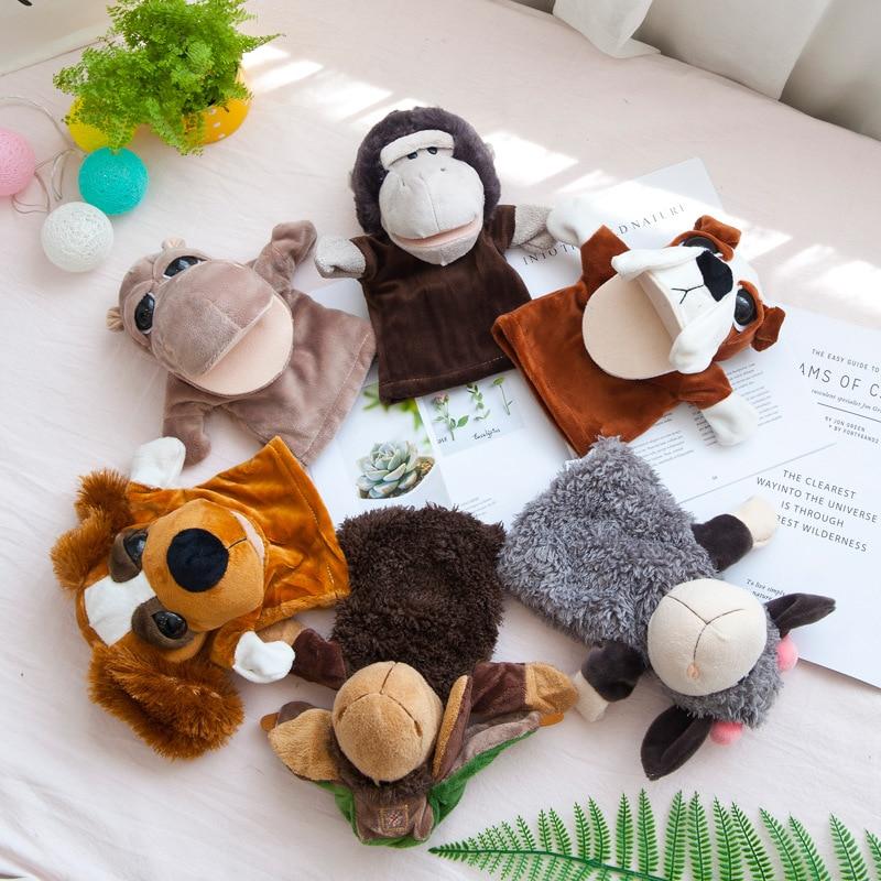 Títere de peluche para bebés y niños, herramientas de enseñanza y juguetes de peluche de aprendizaje, regalo de fiesta, envío gratis