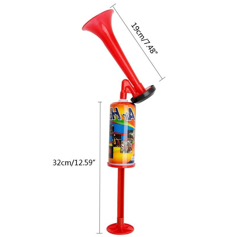 Ручной нажимной воздушный веер гудок для болельщиков, спортивных собраний, клубов, труба, детская игрушка, насос для футбольных игр, громкий...