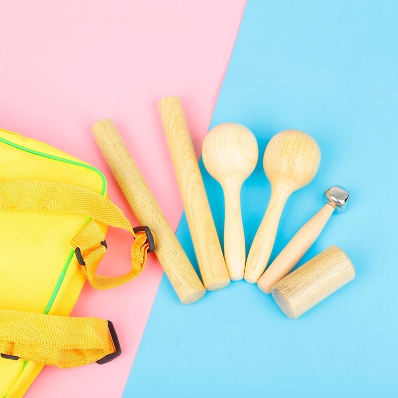 Orff Instrument Set Kids Preschool Rhythm Percussion Musical Early Education Toy enlarge