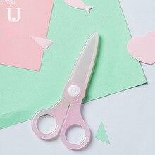 Jordan & Judy enfant ciseaux sécurité petit mignon papier coupe couteau tête ronde bébé ciseaux pour enfants ne fait pas mal à la main