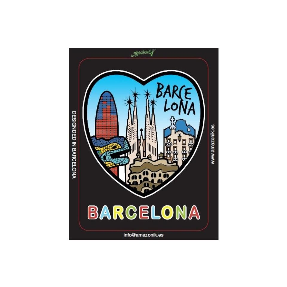Iman Nevera Chapa Monumentos Barcelona