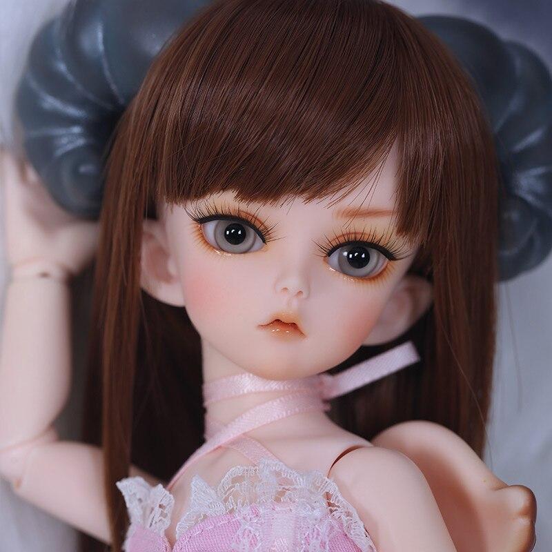 Koma 1/6 muñeca BJD SD modelo de cuerpo para niñas y niños, Ojos de alta calidad, juguetes de moda, tienda de maquillaje, figuras de resina Luodoll
