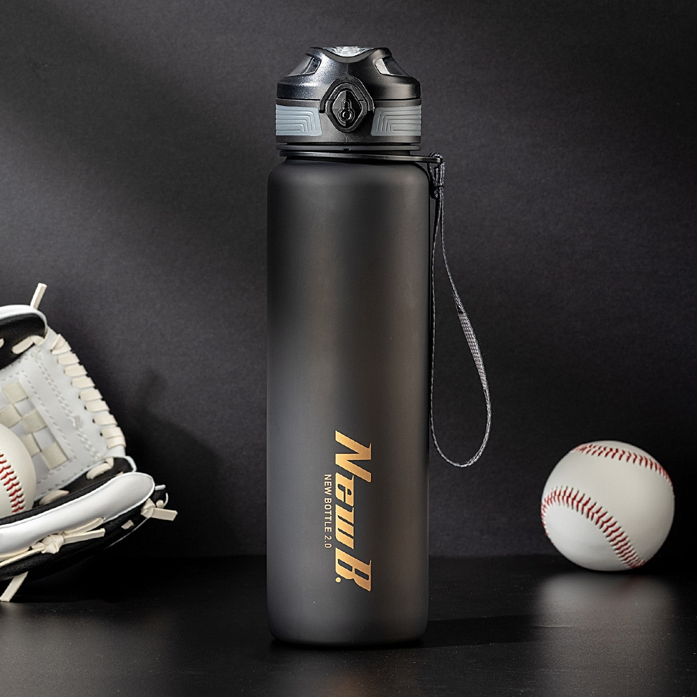 Portable Water Bottle for 1000ml 650ml Large Capacity Water Bottles for Fitness Cycling Outdoor Spor