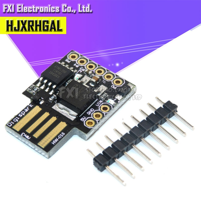 10pcs Digispark kickstarter development board ATTINY85 module for Arduino usb Hot sale!