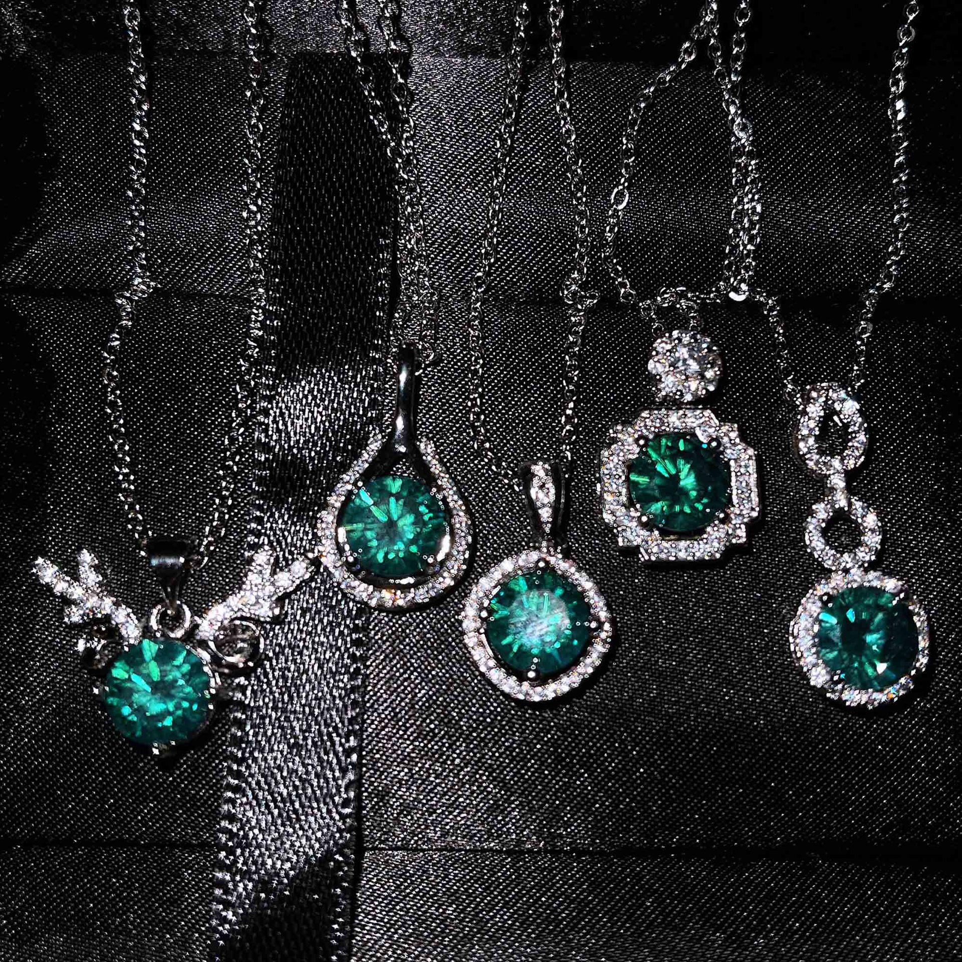 Превосходное-ожерелье-qtt-с-подвеской-в-разных-стилях-милое-серебряное-ожерелье-чокер-с-круглым-голубым-цирконием-ожерелье-ювелирные-аксе