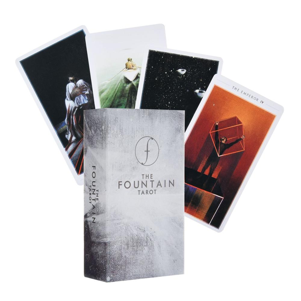 The Fountain Tarot: Illustrated Deck helps you to unlock your deepest longings and greatest potential