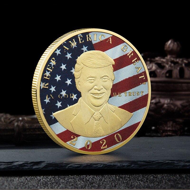 Дональд J Трамп, президент США, коллекция монет США, медали президента США, подарки, сувенирные монеты