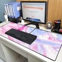 textured colorful big mouse pad pc game console mouse pad l non slip mouse pad keyboard desktop pad suitable for keyboard carpet
