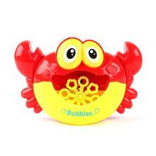 Bébé bain jouets bulle crabes MusicKids piscine natation baignoire savon Machine automatique bulle drôle crabe grenouille nuage canard BathToy