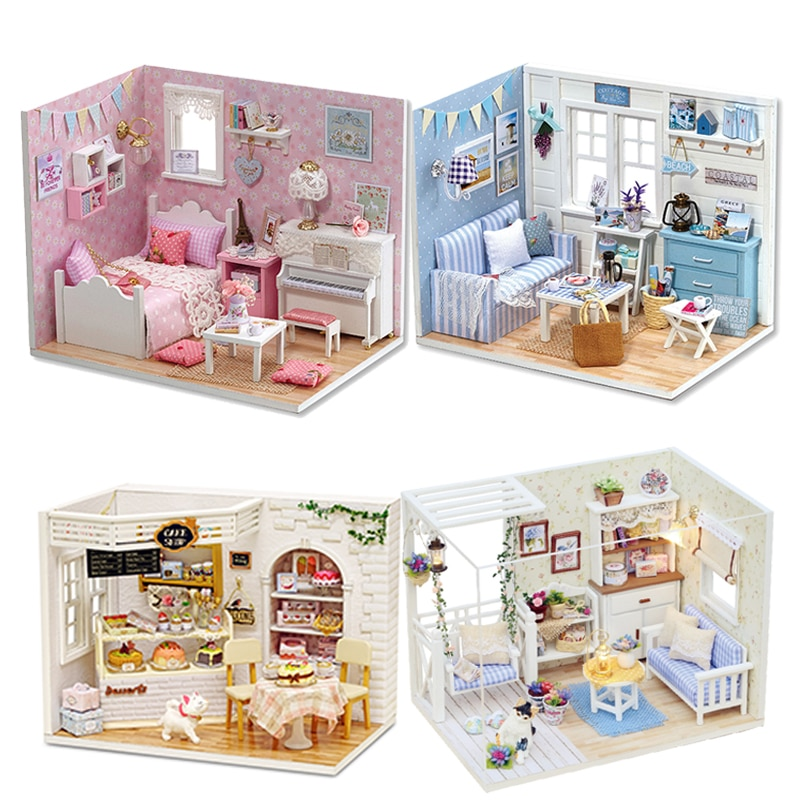 barbie brand limited collect 3 style fashion dolls yoga model toy for little baby birthday gift barbie girl boneca model dhl81 DIY Miniature Dollhouse Model Wooden Toy Furnitures Casa De Boneca Dolls Houses Toys Birthday Gift H012
