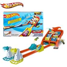 Original Hot Wheels Car Track Set Carro Hotwheel Voiture Diecast Model Car Juguetes Hot Toys for Children Birthday Gift Boys Toy