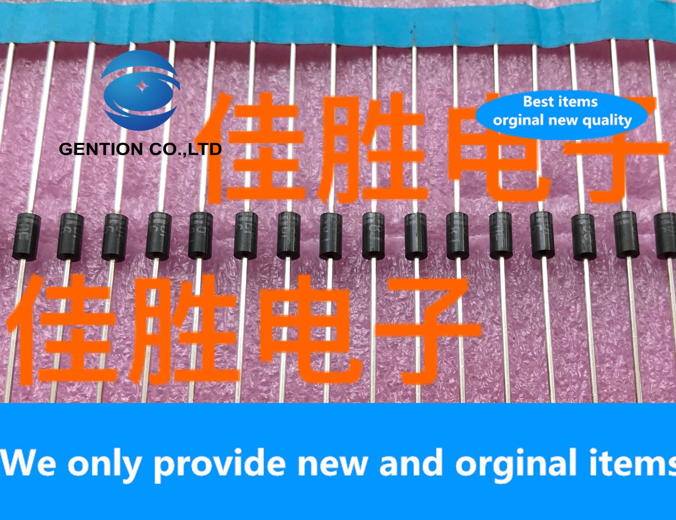 30 Uds 100% nuevo original 10DF6 600V perno Chapado en plata ultra rápida recuperación DO41 pantalla de seda DF6