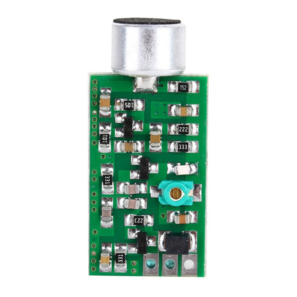 Mini Bug Dictagraph intersector DIY junta de recogida ajustable módulo transmisor FM accesorios de Audio sensible