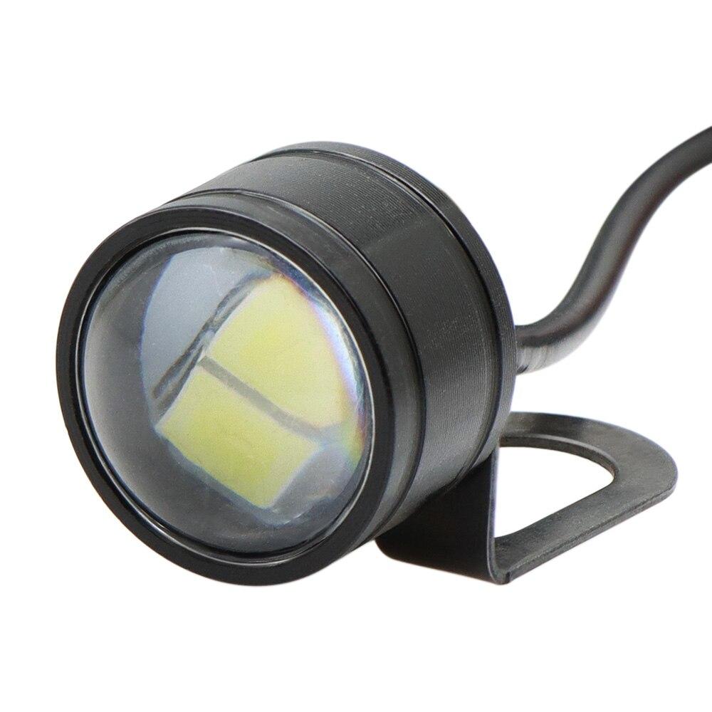 Nuoxintr 1Pair Black  Universal Motorcycle LED Mini Turn Signal Eagle Eye Shape Turn Indicators G8TE enlarge