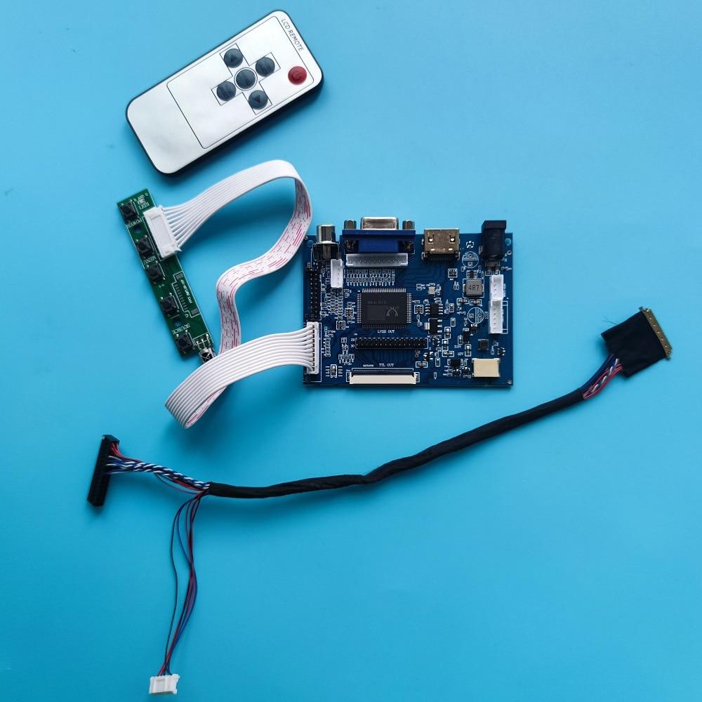 ل HSD101PFW4-A00 40pin HDMI-متوافق VGA تحكم مجلس عدة 2AV LCD عن بعد شاشة LED لوحة 10.1