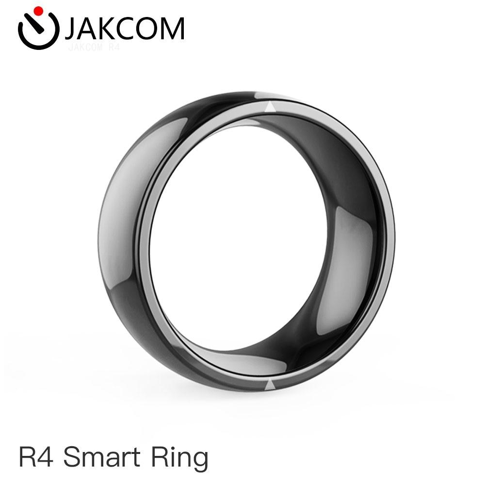 JAKCOM R4 anillo inteligente agradable que rfid 125khz de metal transceptor ftth de cuero negro anti-robo escondido ic grabadora olt epon 1 pon