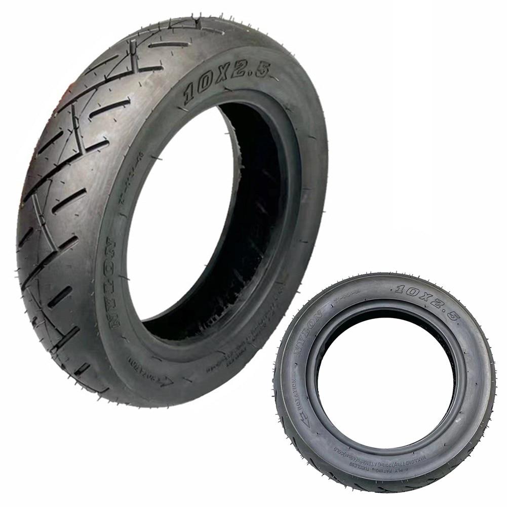 Бескамерные утолщенные шины для электрического скутера 10x2,50, вакуумные колесные износостойкие шины, балансирующие автомобильные запчасти ...