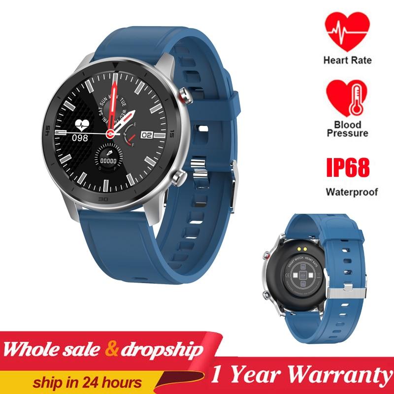 DT78 Smart Watch Men Fitness Tracker Women Wearable Devices IP68 Smartwatch Heart Rate Wristwatch Men Smart Watch VS DT98 L11