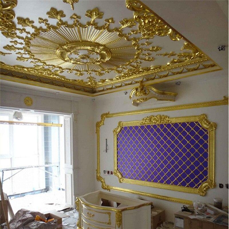 100 Uds Sheets Pure 24K hoja de papel de oro Anti-envejecimiento dorado para decoraciones de alimentos álbum de recortes de manualidades hechas a mano decoración artesanal