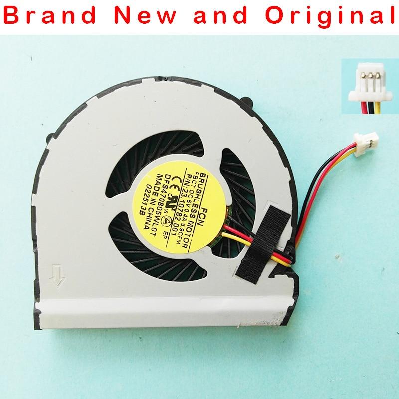 Nuevo ventilador de refrigeración ORIGINAL CPU para Dell Inspiron 14Z 5423 P35G ventilador DFS470805WL0T FBCT 23.10656.001