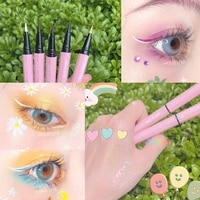 colorful long lasting liquid eyeliner pen waterproof fast dry eye liner pencil smooth easy to wear cosmetic eyes makeup tools