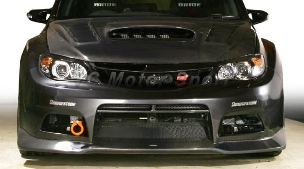 Acessórios do carro vs estilo frp fibra de vidro amortecedor dianteiro com cf lábio apto para 2006-2013 R55-R58 jogos para carros dianteiros