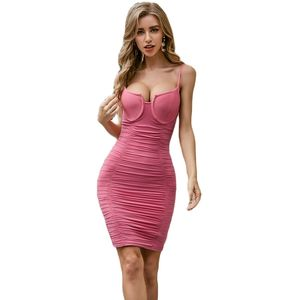 High Quality New Arrival Bodycon Rayon Bandage Dress Club Party Elegant Dress