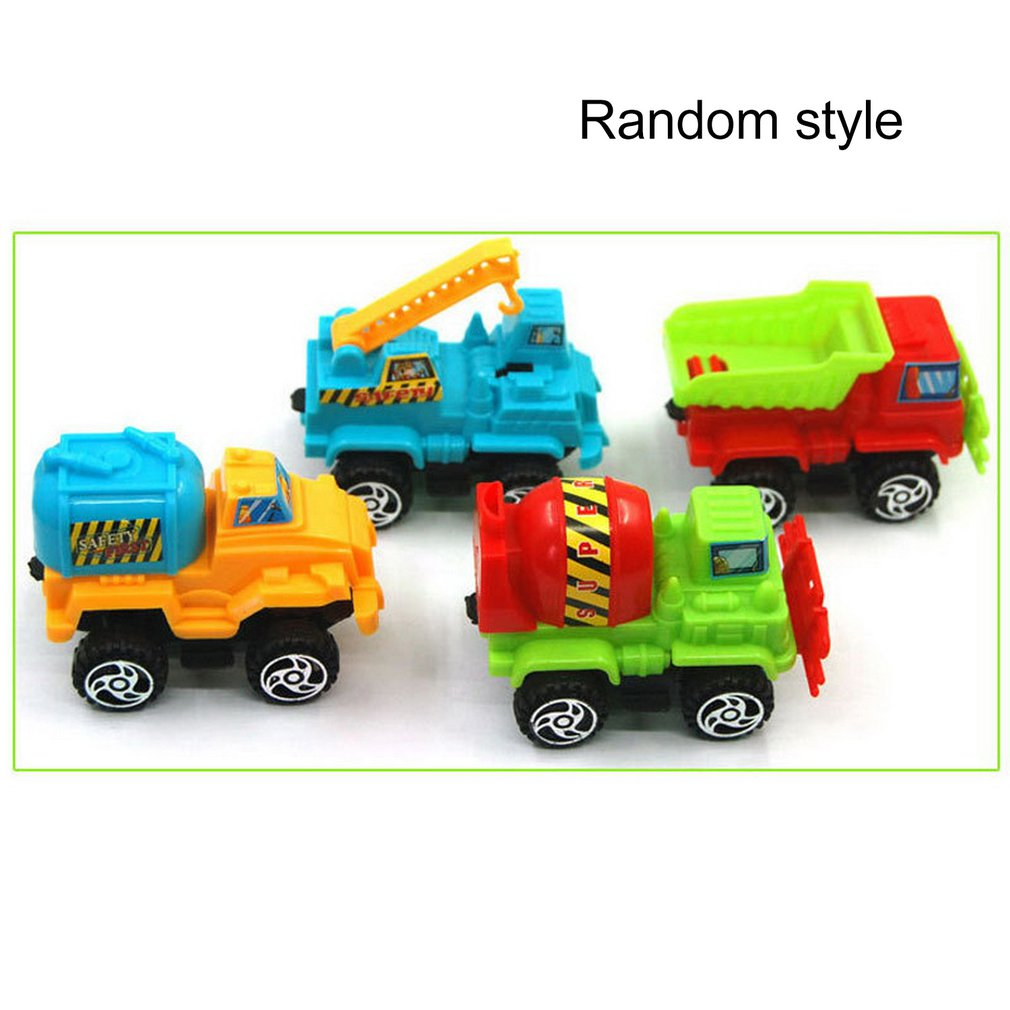 Pull Back Engineering Model Car Diecast Car Toy Vehicles Toy Cars For Boys Girls Classic Vehicle Toy