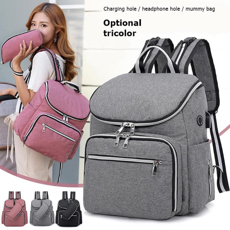 2020 Baby Diaper Bag Backpack Waterproof Mummy Maternity Large Capacity Bags Mummy Maternity Travel Backpack Nursing Handbag Bag