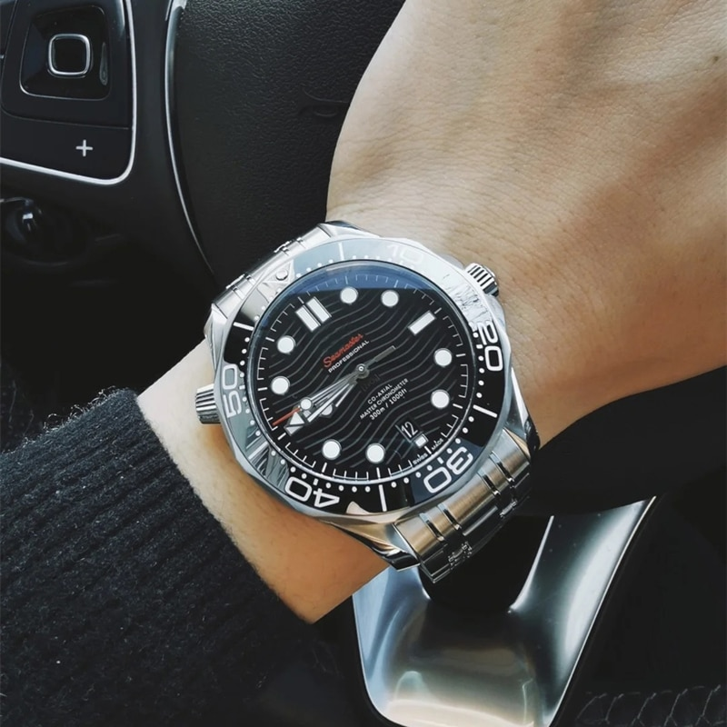 Seamaster 300 mechanical watch classic men's watch waterproof luminous watch men's diameter 42mm