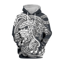 Tessffel Unisex Viking Tattoo Tracksuit New Fashion MenWomen HipHop 3DPrint Sweatshirts/Hoodie/Jacket Harajuku Casual s-2