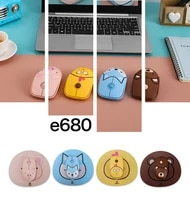2 4g wireless mouse with cute cartoon mouse pad computer mouse 1600 dpi ergonomic optical mouse usb receiver for pc laptop
