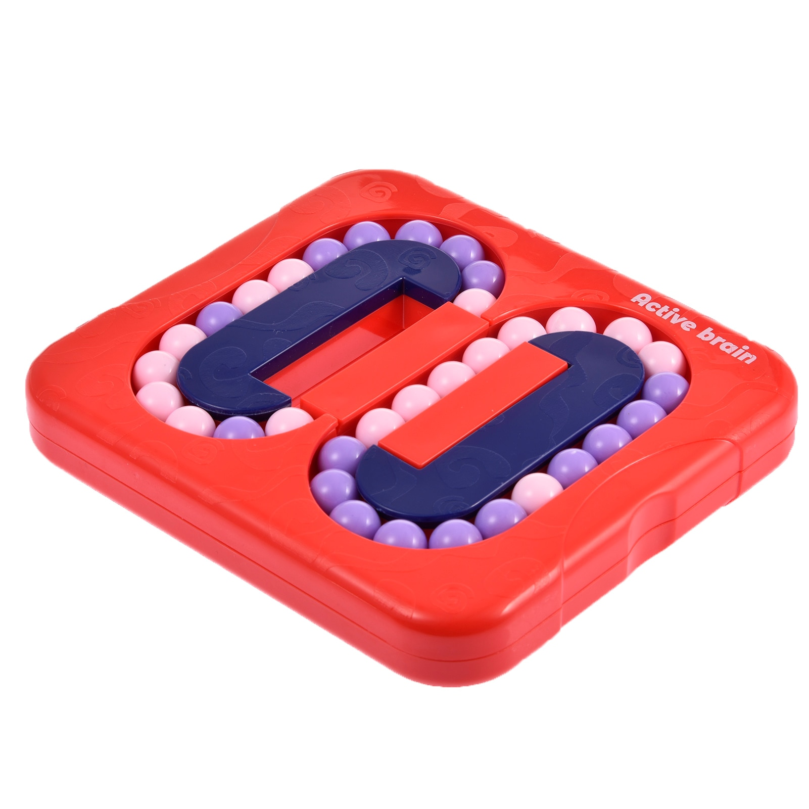 A Flat Bead Maze Toy Rotating Funny Early Educational Toy Rotating Interesting Kids Toys Magic Bean For Kid rotating kaleidoscope rotation fancy world baby toy kids autism kid interesting toy for children gift cherryb