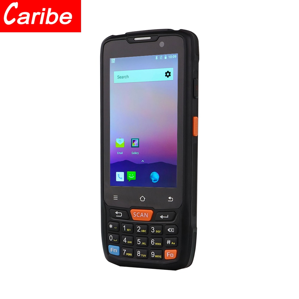 CARIBE-ماسح الباركود ، محمول ، ثنائي الأبعاد ، 4 بوصة ، Rfid ، NFC ، قارئ ، Android ، Automotivo ، PDA