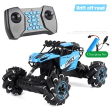 2021 New Remote Control Stunt RC Car Toys 2.4G Gesture Induction Twisting Off-Road Vehicle Light Mus