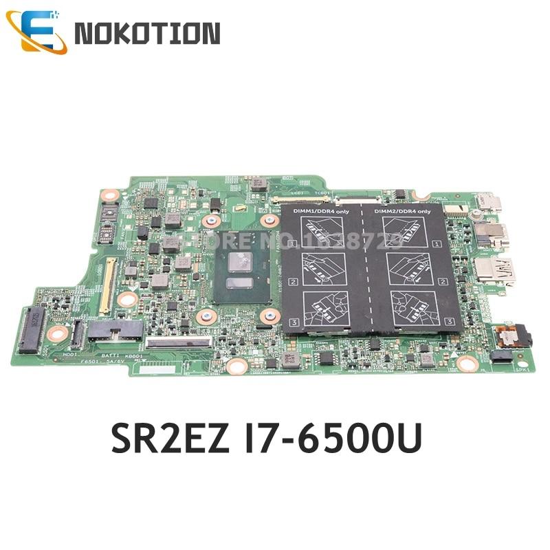 NOKOTION CN-0809FW 0809FW 809FW لديل انسبايرون 7778 سلسلة اللوحة المحمول DDR4 SR2EZ i7-6500U وحدة المعالجة المركزية