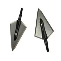 612pcs 125 grain magnus stinger broadhead for carbon fiberglass aluminum arrows tip point screw archery bow hunt