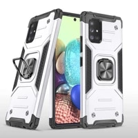 fashion armor shockproof phone case for samsung galaxy a51 a71 a81 a91 a01 a11 a21 a31 a41 a21s 4g 5g kickstand protection cover