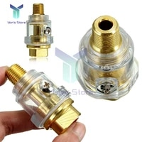 14 inch npt oiler lubricator for pneumatic tool air tool compressor pipe hose oiler automatic oiling with filter pipe fittings