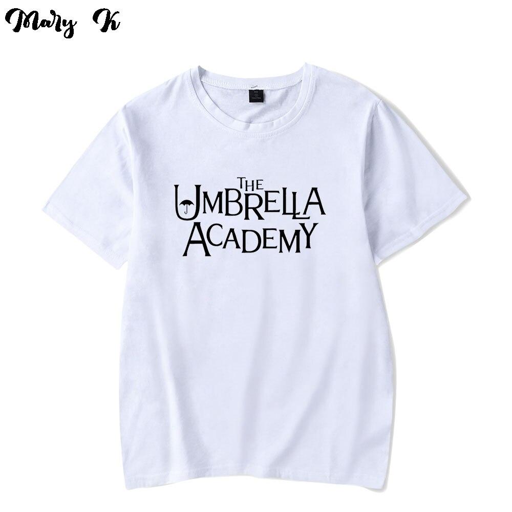 Academia T Camisa da menina do Menino Das Mulheres dos homens T-shirt Do Guarda-chuva das Mulheres T Camisa de Algodão de Manga Curta Tops
