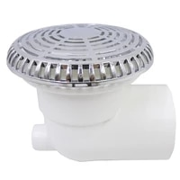 96mm massage tub water suctionschrome plated surface spider shapespa massage tub accessories