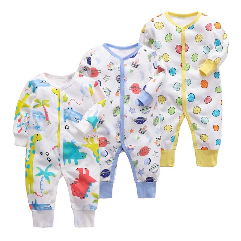 Bebé recién nacido manta para niñas traviesas de los bebés ropa de dormir infantil de manga larga 3 6 9 12 18 24 meses Pijamas de bebé