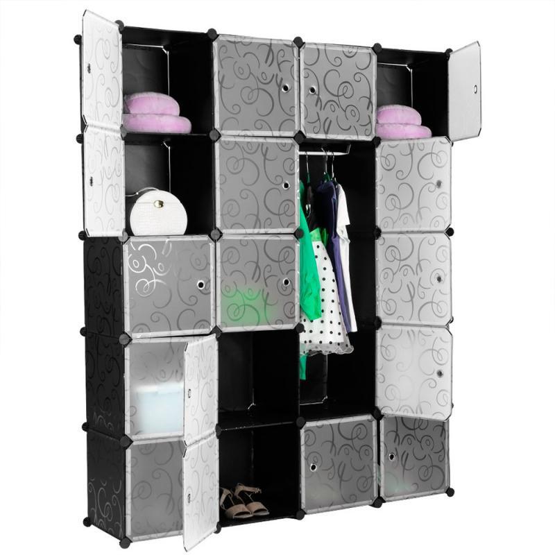 5 طبقة المنزل الأثاث: أثاث غرف النوم خزائن الجمعية البلاستيك الراتنج خزانة خزانة لغرفة النوم الجمعية خزانة HWC