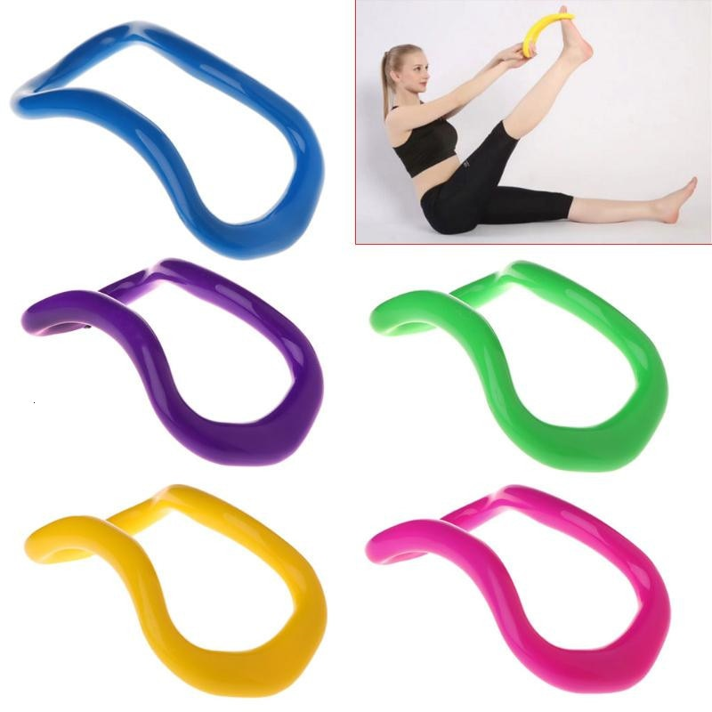NEW!!!Yoga Circle Yoga Stretchdline Ring Home Women Fitness Equipment Fascia Massage Workout Pilates Bodybuilding Exercise