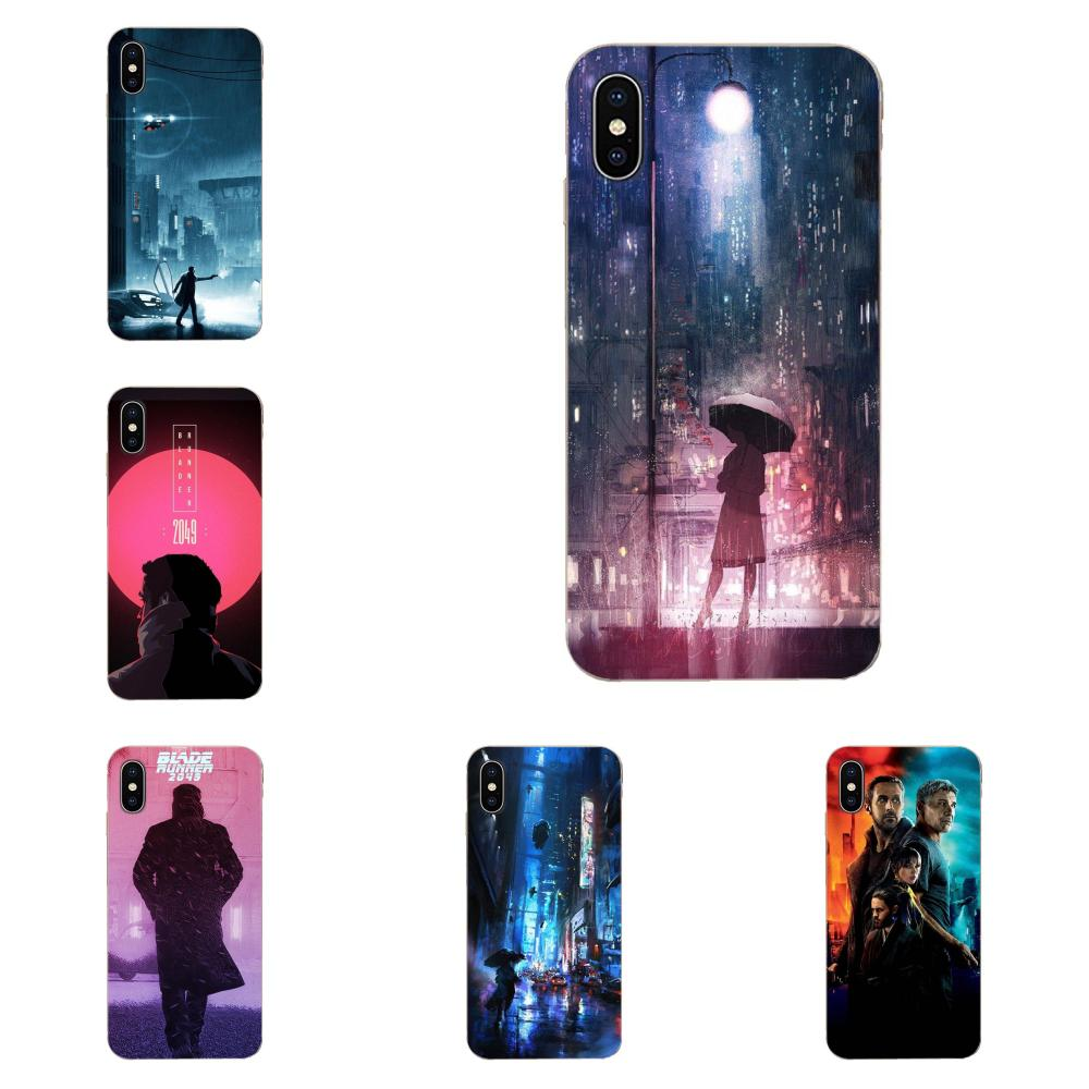 Para Huawei Mate 9 10 20 P P8 P9 P10 P20 P30 P40 Lite Pro inteligente 2017 detallada funda para teléfono Popular Blade Runner 2049