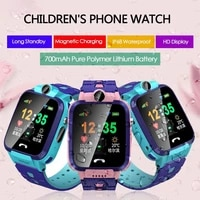 v95w kids smartwatch waterproof antil lost location tracker touch screen smart call watches support sim card for children