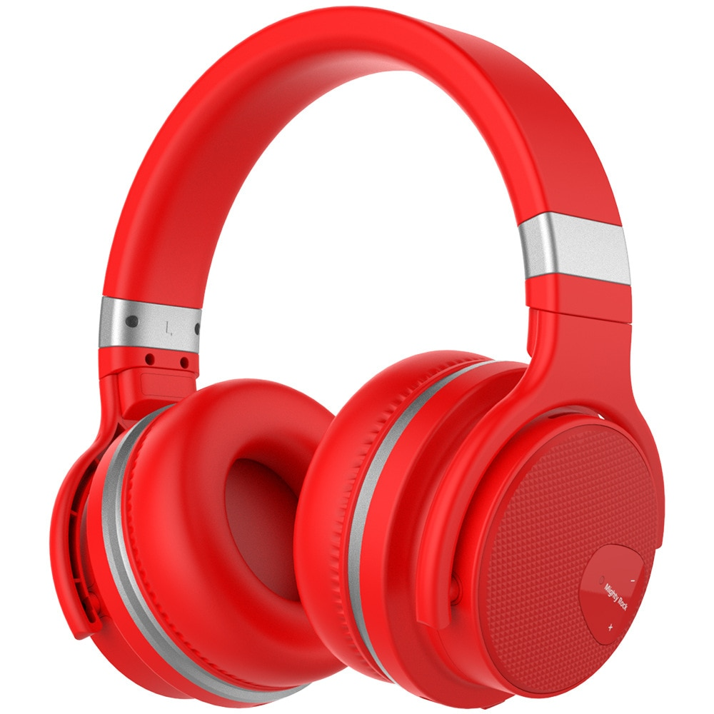 HIFI Bluetooth Active Noise Cancelling Headset Wireless Headset Music Stereo Overweight Bass For Business Sports enlarge