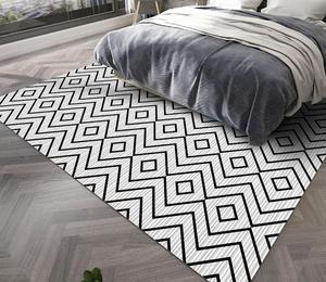 Geometric Style Carpet Livingroom Home Soft Bedroom Carpets Sofa Coffee Table Rug Kids Crawling Rugs Fashion Mats