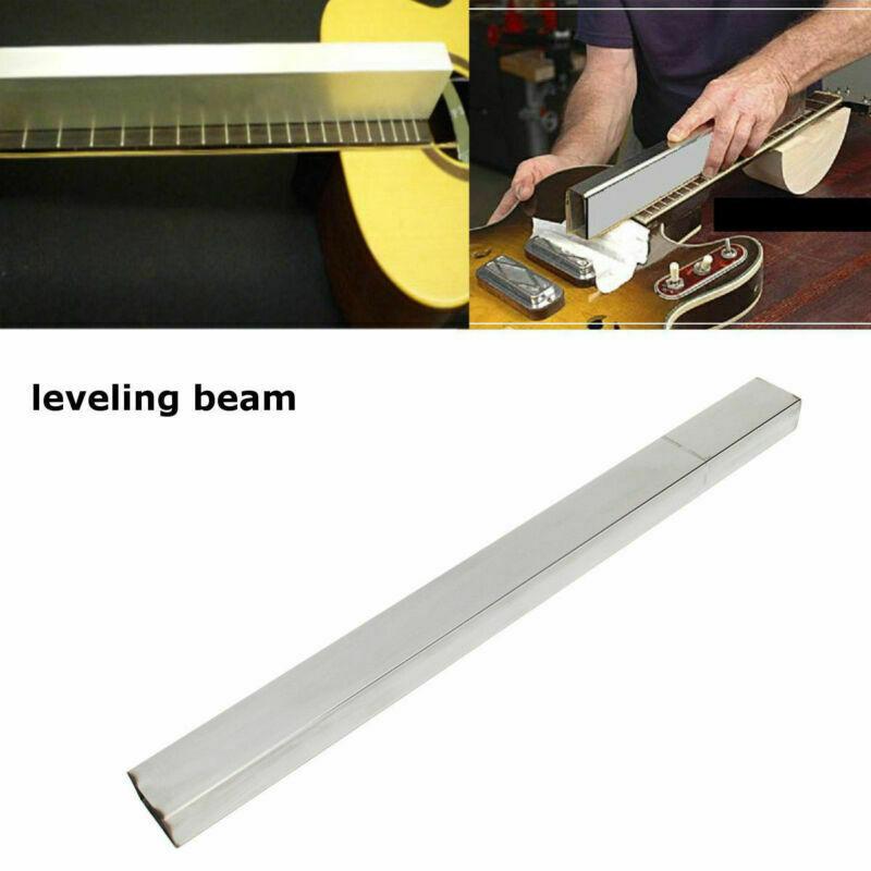 Luthier trabajo Luthier suministro 19 nivelado de traste Beam Luthier herramienta para guitarra 48CM