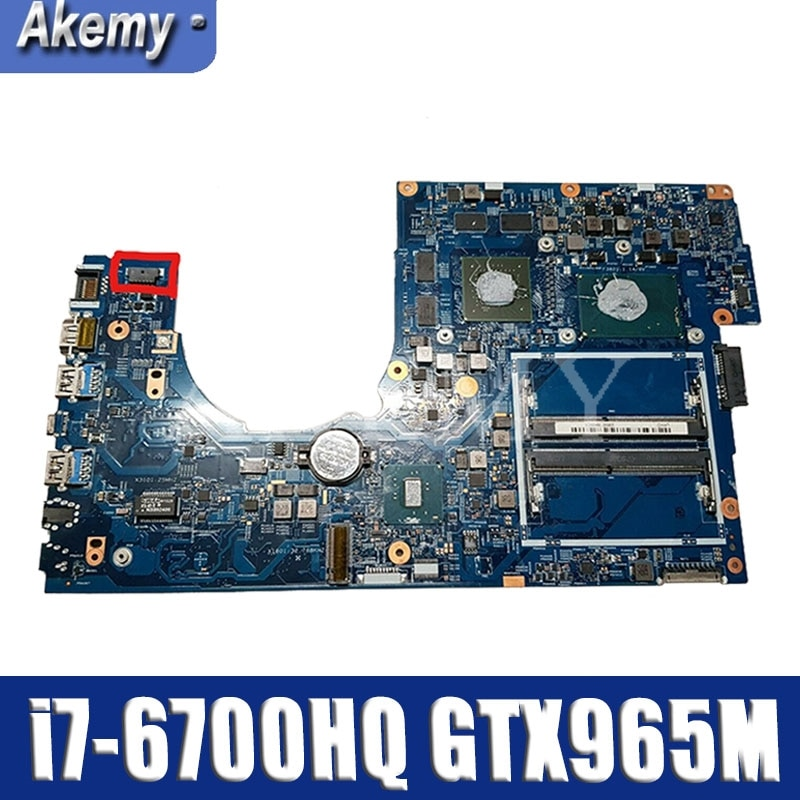 Para For Acer aspire VN7-792 VN7-792G placa base de computadora portátil GTX965M...
